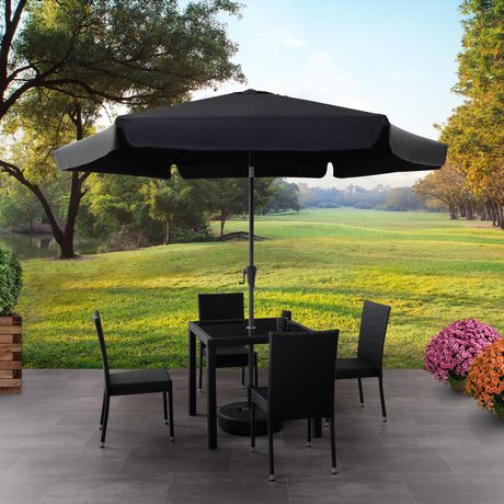 CorLiving 10 Ft Tilting Patio Umbrella - image 1 of 8