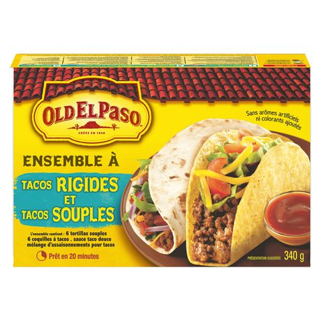 Old El Paso Hard And Soft Taco Dinner Kit - image 2 of 9