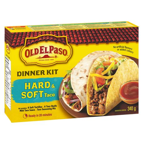 Old El Paso Hard And Soft Taco Dinner Kit - image 7 of 9