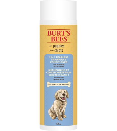 Burt's Bees 2 in 1 Tearless Shampoo And Conditioner with Buttermilk And Linseed Oil for Puppies - image 1 of 1