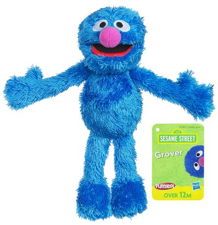 Sesame Street Mini Plush Grover Figure Walmart Canada