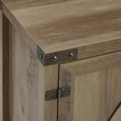"""Manor Park Modern Farmhouse Barn Door TV Stand for TV's up to 48"""" - Multiple Finishes - image 2 of 7"""