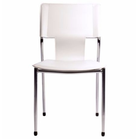 Chaises blanches empilables nicer furniture de conception for Chaises blanches modernes
