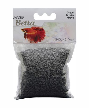 Marina black epoxy aquarium gravel 240g for Walmart fish gravel