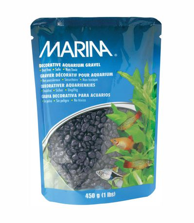 Decorative aquarium gravel purple 450g for Walmart fish gravel