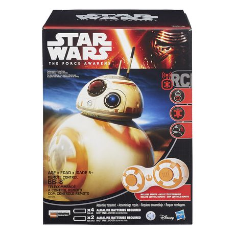 Remote Control Bb8 >> Star Wars The Force Awakens RC BB-8 Figure | Walmart.ca