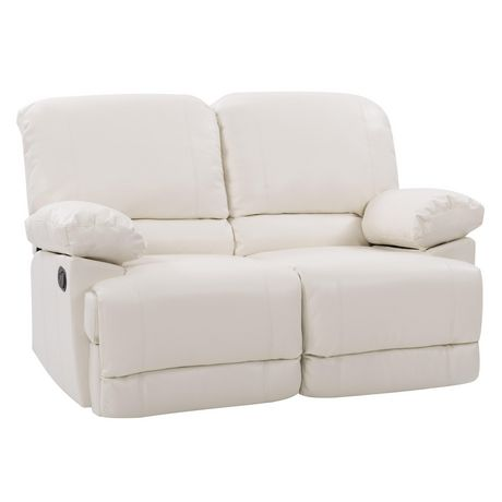 CorLiving Lea Reclining Bonded Leather 3 Piece Sofa Set - image 5 of 9