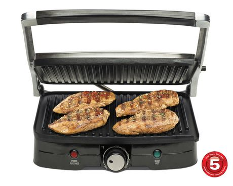 Hamilton Beach Contact Grill with Panini Press - image 1 of 7