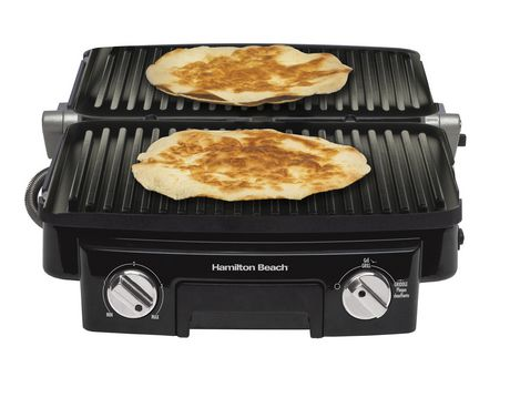 Hamilton Beach Contact Grill with Panini Press - image 4 of 7