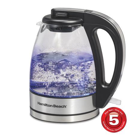 Hamilton Beach Compact Glass Kettle 40930C - image 1 of 5