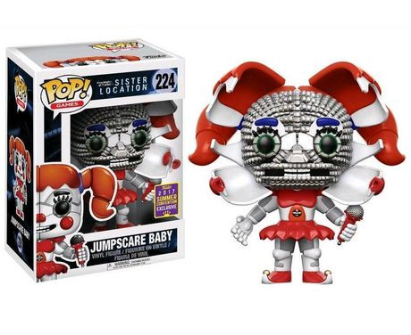 Funko Pop Games Five Nights At Freddy S Sister Location
