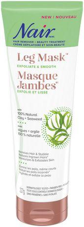 Nair Leg Mask with 100% Natural Clay + Seaweed - image 1 of 5