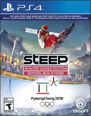 steep winter games edition ps4 walmart canada. Black Bedroom Furniture Sets. Home Design Ideas