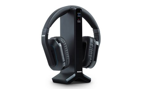 Ion Audio Ion Telesounds Wireless Headphone System For Tv With