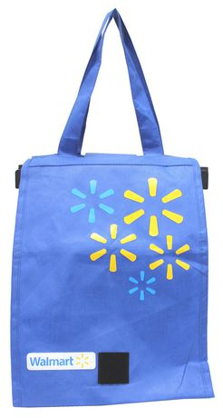 Travelway Group International Reusable Grocery Bag Blue 11 In