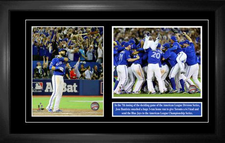 Jose Bautista Toronto Blue Jays Bat Flip Home Run