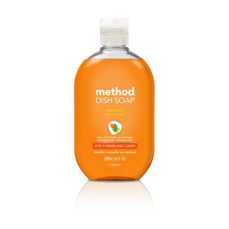 Method Dish Soap, Clementine, 237 ml