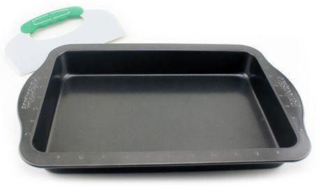 Moule à gâteau de 9 x 13 po avec outil Perfect Slice de BergHOFF - image 2 de 3