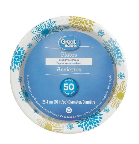 Great Value Paper Plates - image 1 of 2