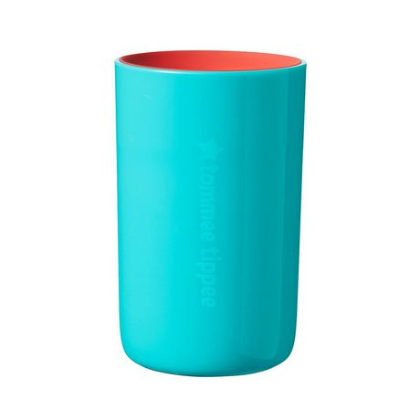 TommeeTippeeEasiflow360° Spill-Proof Cup with Travel Lid, Aqua&Teal –8oz, 12m+, 2pk - image 3 of 9