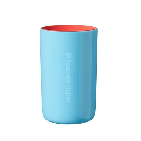 TommeeTippeeEasiflow360° Spill-Proof Cup with Travel Lid, Aqua&Teal –8oz, 12m+, 2pk - image 2 of 9