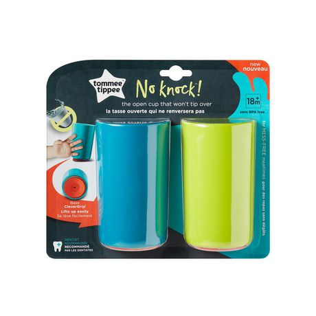 Tommee Tippee No Knock™ Toddler Cup, Teal & Green – 10oz, 18m+, 2pk - image 8 of 8