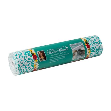 The Pioneer Woman Non-Adhesive Shelf Liner, Traveling Vines - image 1 of 3