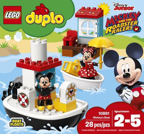 LEGO DUPLO Mickey's Boat 10881 Building Blocks (28 Piece) - image 5 of 6