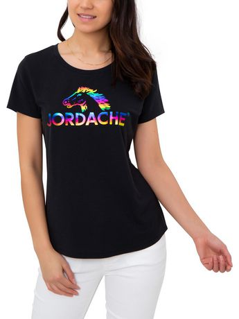 Camiseta Para Mujer Jordacherainbow Walmart Canada