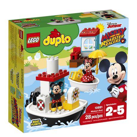 LEGO DUPLO Mickey's Boat 10881 Building Blocks (28 Piece) - image 2 of 6
