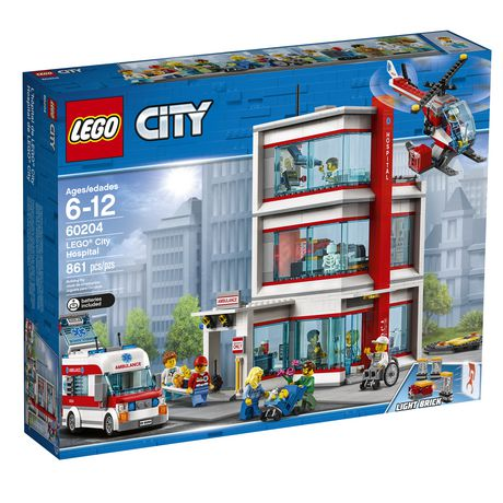 LEGO City Hospital 60204 Building Kit (861 Piece) - image 2 of 6