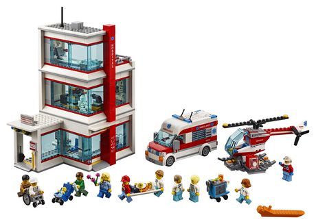 LEGO City Hospital 60204 Building Kit (861 Piece) - image 3 of 6