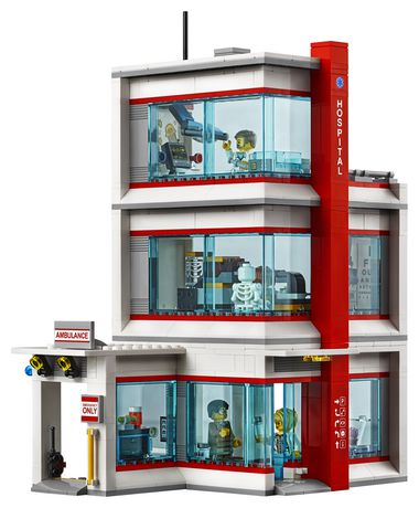 LEGO City Hospital 60204 Building Kit (861 Piece) - image 4 of 6