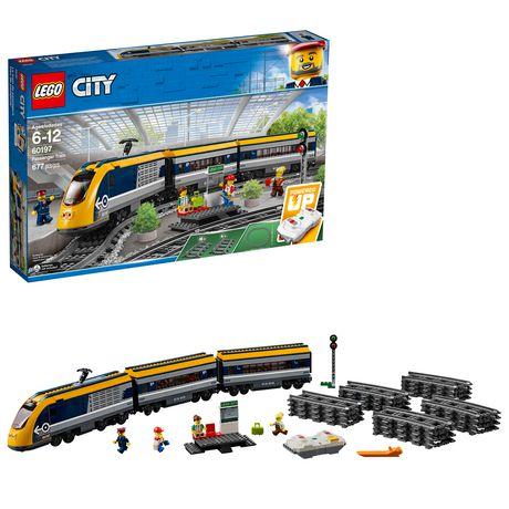 Lego City Trains   Passenger Train (60197) by Lego