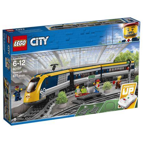 LEGO City Passenger Train 60197 Building Kit (677 Piece) - image 2 of 6