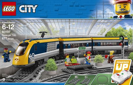 LEGO City Passenger Train Building Kit