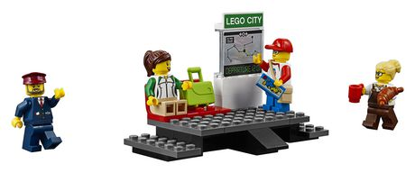 LEGO City Passenger Train 60197 Building Kit (677 Piece) - image 4 of 6