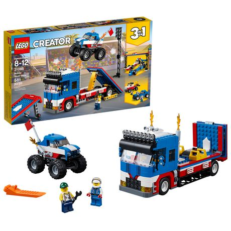LEGO Creator 3in1 Mobile Stunt Show 31085 (580 Piece)