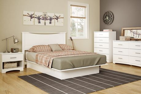 South Shore Gramercy 54 60 Inches Platform Bed With