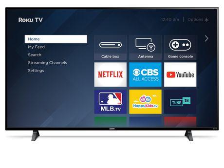 "Sanyo 65"" 4K UHD HDR 10 Roku Smart TV, FW65R79FC - image 1 of 9"