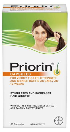 Bayer Healthcare Consumer Care Priorin Hair Growth Stimulation Capsules
