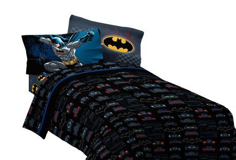 Ensemble De Draps Pour Lit A 2 Places Guardian Speed Batman De