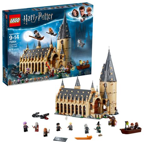 LEGO Harry Potter Hogwarts Great Hall 75954 Building Kit (878 Piece) - image 1 of 6