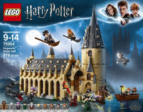 Lego Harry Potter Hogwarts Great Hall 75954 Building Kit