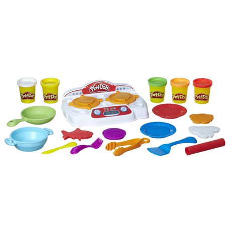 Play-Doh Kitchen Creations Sizzlin' Stovetop Multi