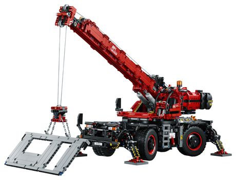 LEGO Technic Rough Terrain Crane 42082 Building Kit (4057 Piece) - image 4 of 6