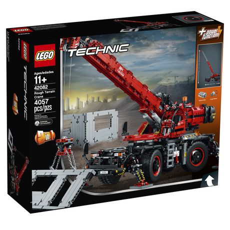 LEGO Technic Rough Terrain Crane 42082 Building Kit (4057 Piece) - image 2 of 6