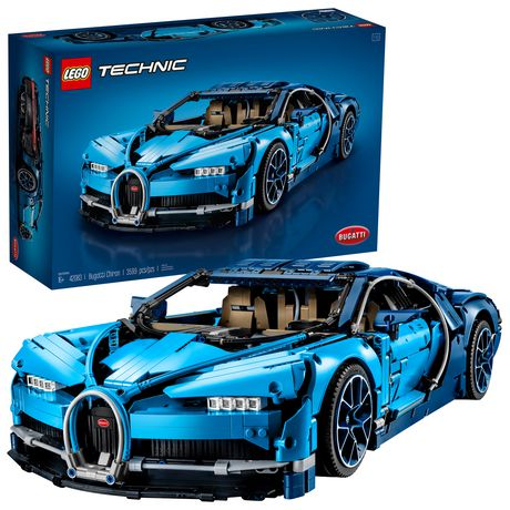 Lego Technic Bugatti Chiron 42083 Building Kit (3599 Piece)
