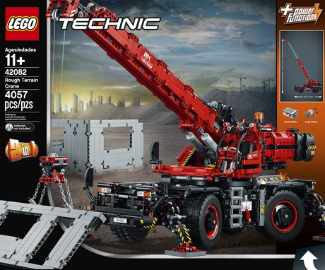 LEGO Technic Rough Terrain Crane 42082 Building Kit (4057 Piece) - image 5 of 6