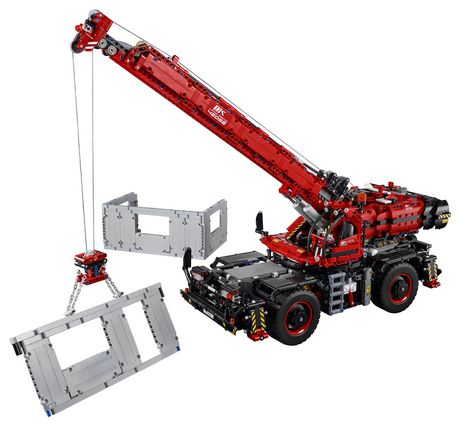 LEGO Technic Rough Terrain Crane 42082 Building Kit (4057 Piece) - image 3 of 6